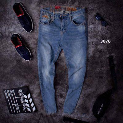 Quần jean dài nam mã 3076