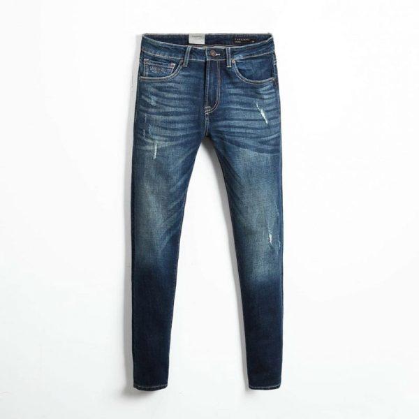Quần jean nam phông suông basic 10