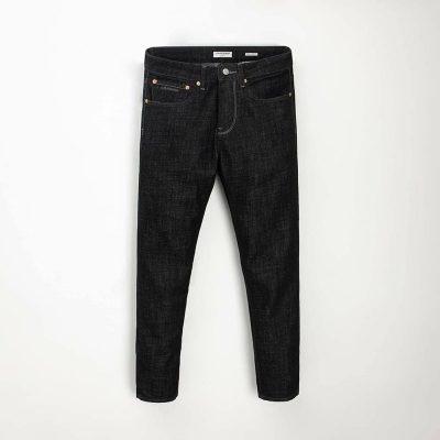 Quần jean nam phông suông basic 11