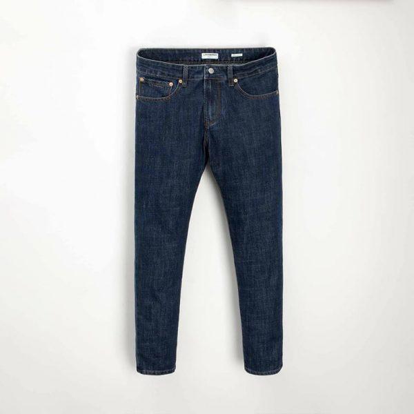 Quần jean nam phông suông basic 12