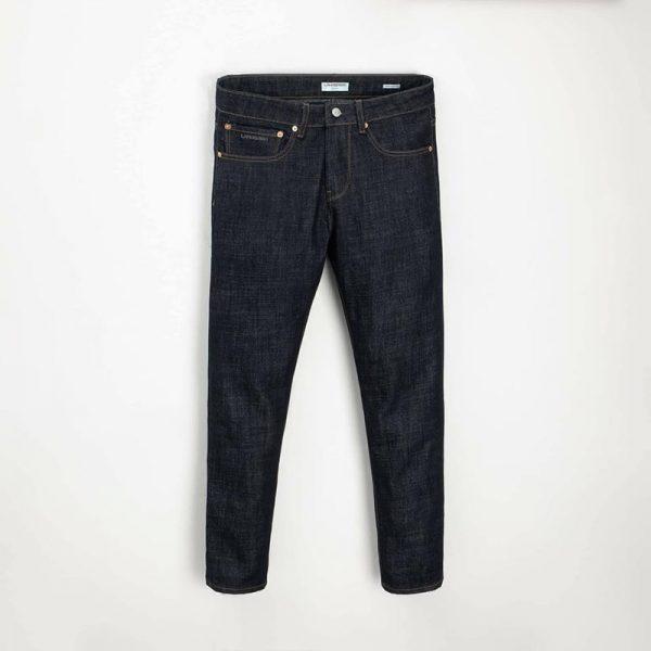 Quần jean nam phông suông basic 13