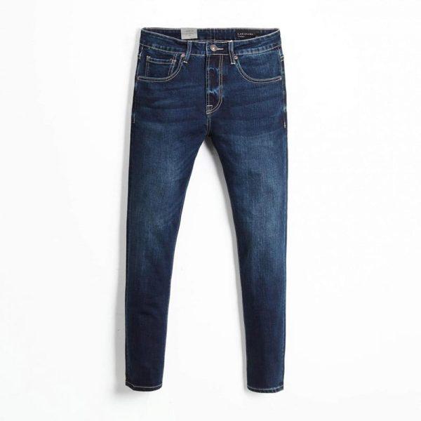Quần jean nam phông suông basic 4
