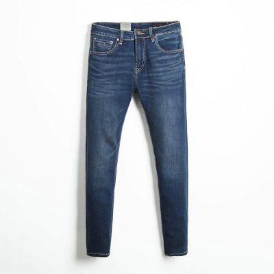 Quần jean nam phông suông basic 5