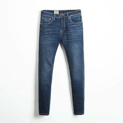 Quần jean nam phông suông basic 8
