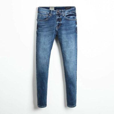 Quần jean nam phông suông basic 9