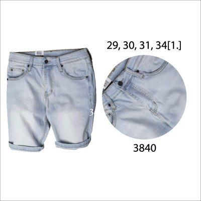Quần short jean nam QSJ 3840