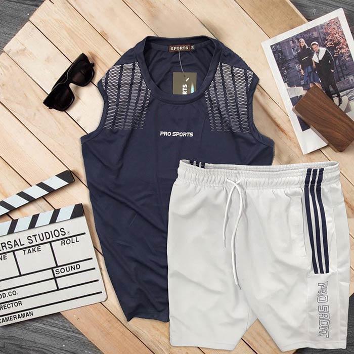 Đồ bộ thể thao áo ba lỗ quần short Pro Sports 4