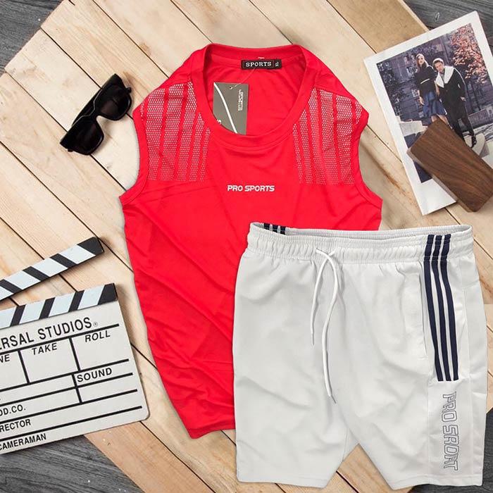 Đồ bộ thể thao áo ba lỗ quần short Pro Sports 5