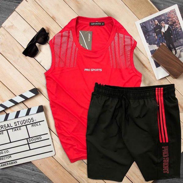 Đồ bộ thể thao áo ba lỗ quần short Pro Sports 7