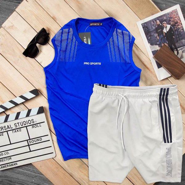 Đồ bộ thể thao áo ba lỗ quần short Pro Sports 9